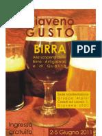Programma Giaveno Gusto Birra