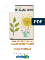 Horticultura Ao Alcance de Todos