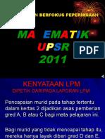 FOKUS MATEMATIK UPSR 2011