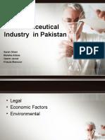 Pharmaceutical Industry in Pakistan