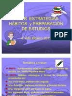 TALLER  ESTRATEGIAS 4° Básico