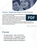 Curso de Administrador de Banco de Dados Oracle 11g Em Porto Alegre, Na T@RgetTrust