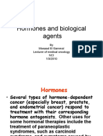 Hormones and Biological Agents