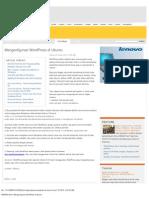 Mengonfigurasi WordPress Di Ubuntu