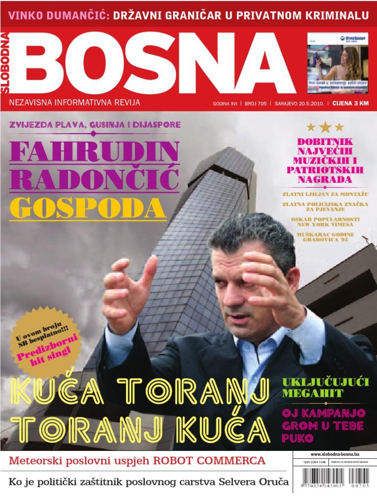 Alba Jove Olesti Porno slobodna bosna [broj 705, 20.5.2010]
