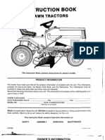 Murray 40603B Lawn Tractor Owners Manual