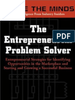 2002 - Inside the Minds-The Entrepreneurial Problem Solver