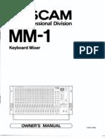 TASCAM MM-1 Keyboard Mixer