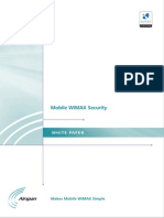 WP Mobile WiMAX Security