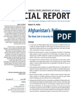 USIP - Afghanistan's Police