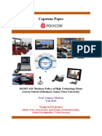 Polycom Case Analysis