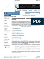 Industry Handbook