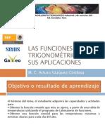 Las funciones trigonométricas y sus aplicaciones