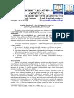 Norme de Redactare Pentru Lucrari de Licenta, Disertatie Doctorat