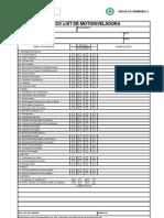 Check List de Motoniveladora