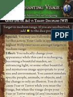 Creature Support Action - Enchanting Visage