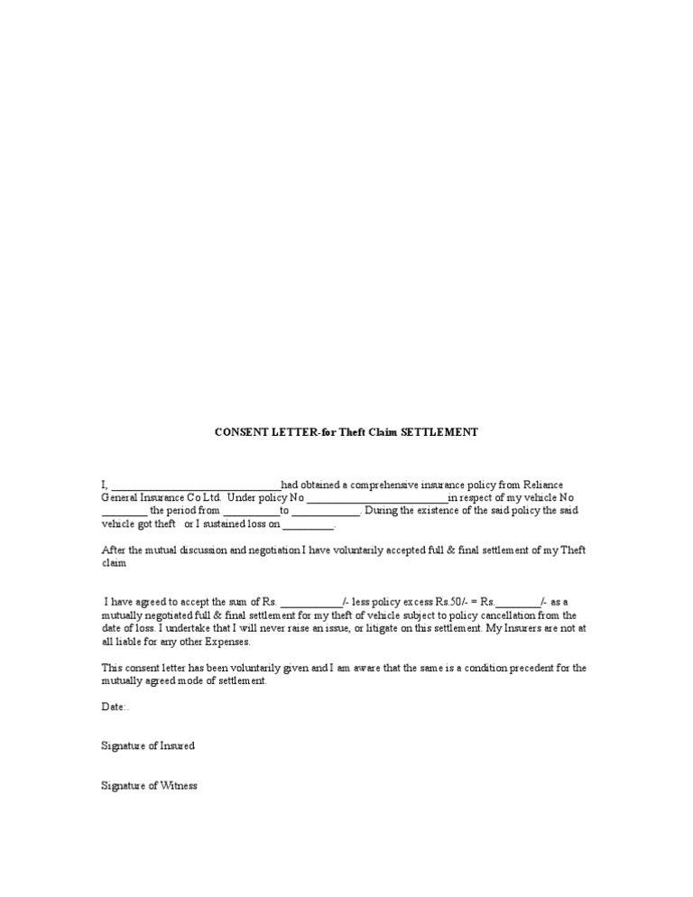 full and final settlement letters