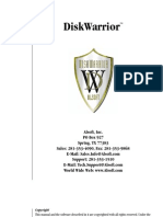 Disk Warrior Manual