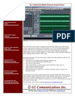 T1E1 Real Tim Emc Audio Driver Brochure