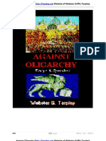 Against Oligarchy _TARPLEY British Financial Warfare