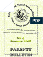 Summer Bulletin 2008