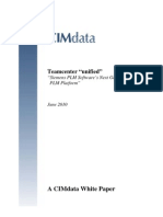 CIM Data White Paper Team Center PLM