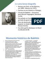 Bakhtin e a teoria dos gêneros textuais