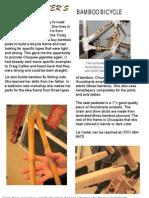 Liz Carter's Bamboo Bicycle