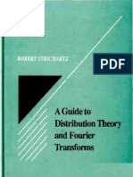 A Guide to Distribution Theory and Fourier Transforms - Robert S Strichartz - 9780849382734