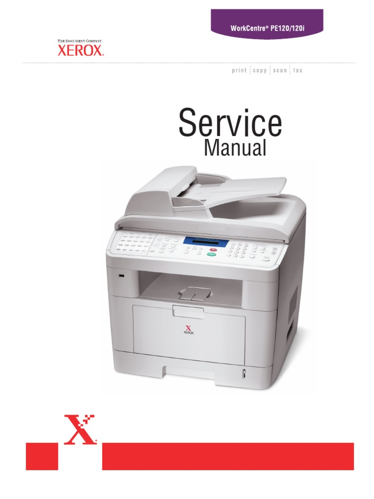 Xerox WorkCentre PE120 Scanner Driver