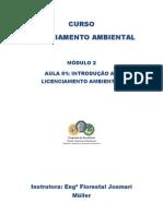 Apostila Modulo 2 Aula 01_introducao Ao Licenciamento Ambiental