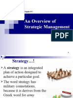 01. an Overview of Strategic Management