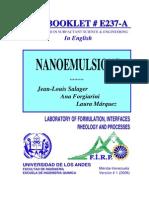 Nanoemulsiones