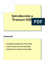 1 Introduccion a Transact SQL