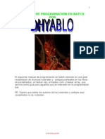 Manual de Programacion en Batch by Dhyablo
