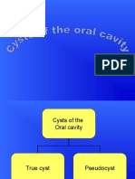Cysts of the Oral Cavity