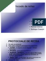 Protocoale de retea
