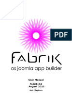 Fabrik User Manual 2 0