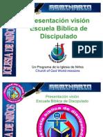Presentación ESCUELA BIB DISCIP