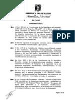Ley Reformatoria a la Ley Orgánica de Transporte Terrestre, Tránsito, Seguridad Vial[1]