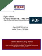 Oracle Database Forensics Logminer 159