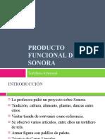 Producto Funcional de Sonora