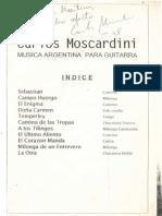 Carlos Moscardini - Musica Argentina Para Guitarra