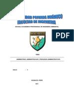 Admin is Trac Ion y Procesos Administrativos1