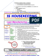 SBH - 5S Housekeeping Training Brochure Jan 2008 Rev B