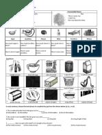 Quantifier Worksheet -Basic Level