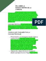 BREVE RESEÑA SOBRE LA PSICOMOTRICIDAD DENTRO DE LA EDUCACIÓN INICIAL