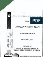 Apollo 9 Final Flight Plan