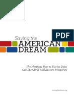Saving the American Dream