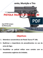 Pistola PT100 4o. Bpm